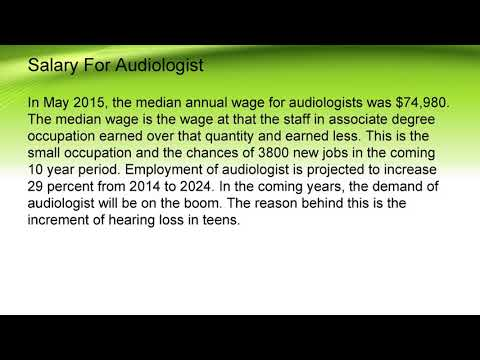 Why Audiology Is In Boom Today Career Salary And Education Youtube