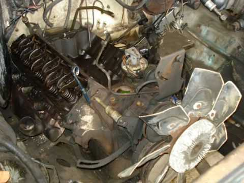 1978 Ford F150 Ranger 351m Engine Rebuild Part 1 Youtube