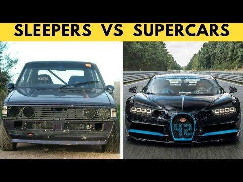 When Sleepers Go Full SAVAGE! Sleeper Cars Vs Supercars