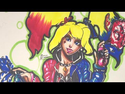 Draw Harley Quinn Again