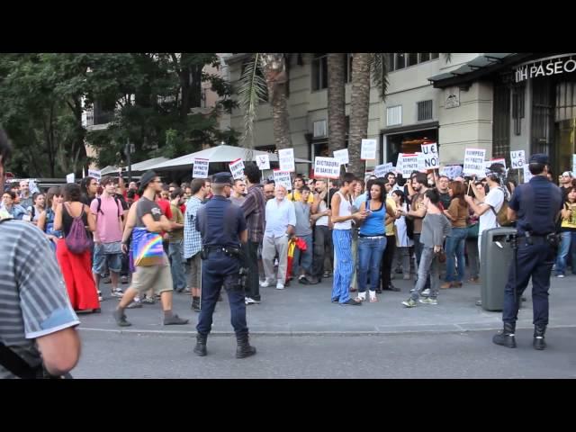 Spain Madrid Bamking Strike