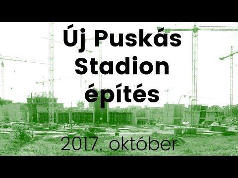 🔴 Új Puskás Stadion építés - 2017. október 🚧👷🚜