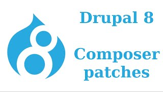 Drupal 8 composer patches