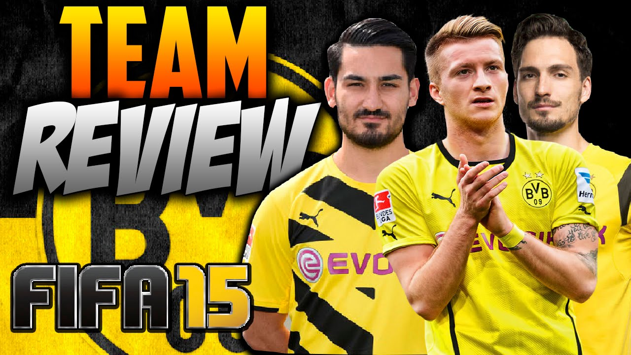 fifa 15 how to play with borussia dortmund team review formation key players gameplay. Black Bedroom Furniture Sets. Home Design Ideas