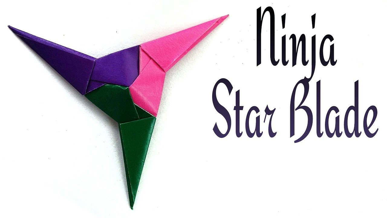 Origami Ninja Star Tutorial | 720x1280