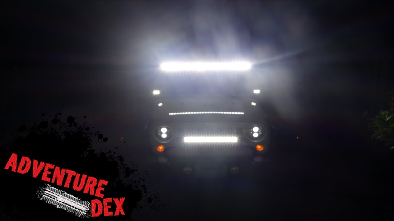 medium resolution of how to wire off road led lights