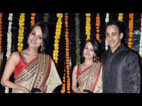 Anita Hassanandani with boyfriend Shobha Kapoor's at Ekta Kapoor Diwali Bash