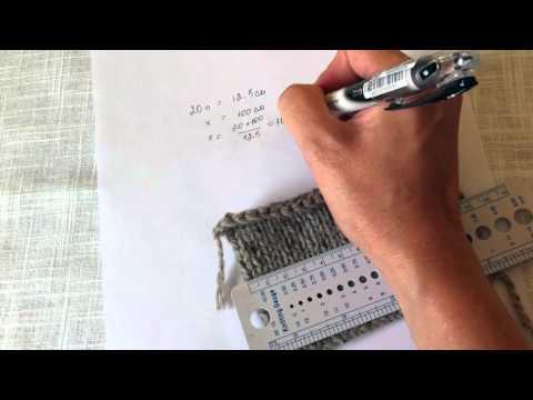 видео: Расчет петель для вязания на спицах.