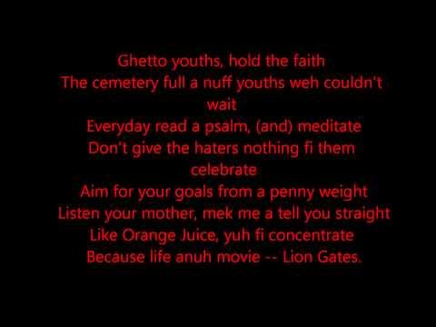 Vybz kartel -  Faith (Official Lyrics) [October 2014]