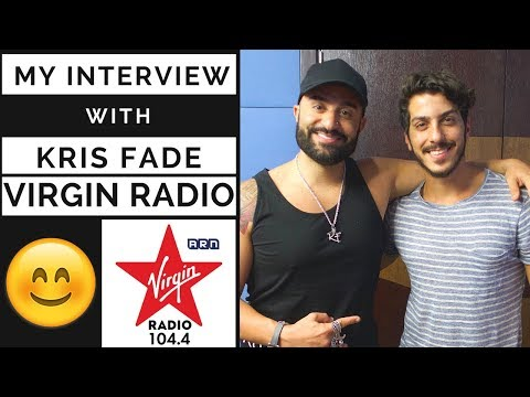 MY INTERVIEW WITH KRIS FADE ON VIRGIN RADIO | VLOG 7