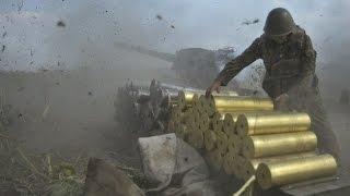 Батарея залпом 300-30-3! Украинские артиллеристы выжигают вату. Видео |Донецк,Луганск(Вооружённый конфликт на востоке Украины - боевые действия на территории Донецкой и Луганской областей..., 2014-08-06T14:12:49.000Z)