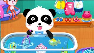 Baby Panda Supermarket |  Shopping Fun Making cream Games For kids | متعة التسوق صنع العاب للاطفال|