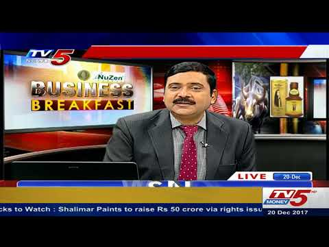 20th December 2017 TV5 News business breakfast