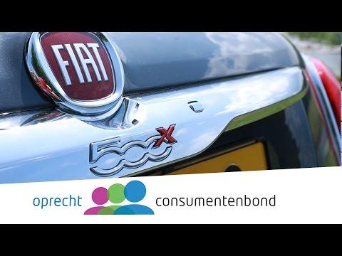Fiat 500X Autoreview Consumentenbond