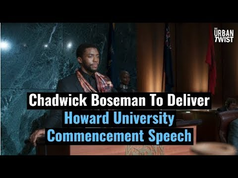 Chadwick Boseman To Deliver Howard University Commencement Speech