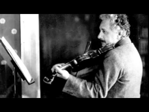 Albert Einstein NEVER BEFORE HEARD: Plays Violin - Mozart Sonata in B-flat KV378