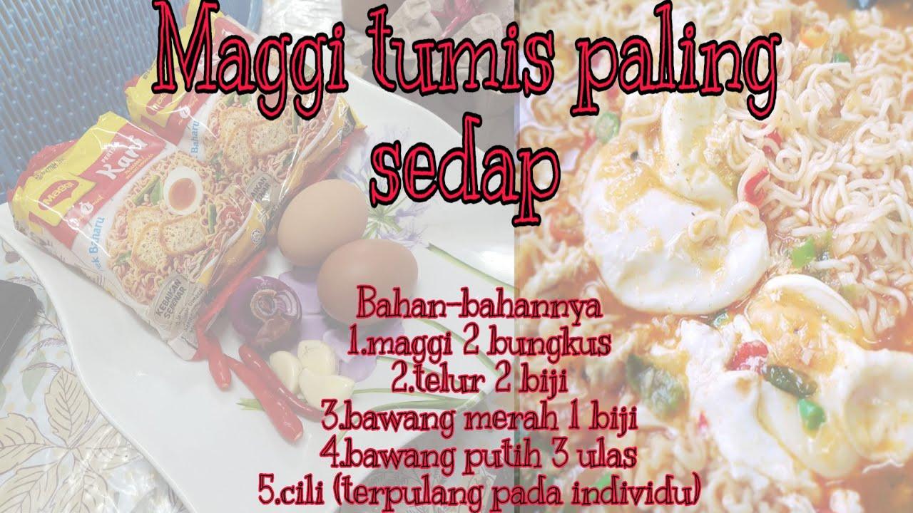 resepi maggi kari tumis sedap youtube Resepi Maggi Ketam Kelantan Enak dan Mudah