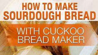 How to make SOURDOUGH BREAD us…