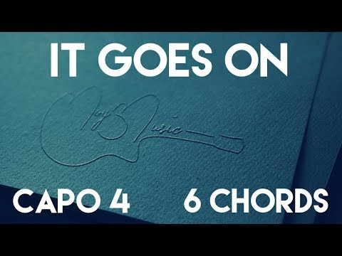 How To Play It Goes On by Zac Brown & Sir Rosevelt | Capo 4 (6 Chords) Guitar Lesson