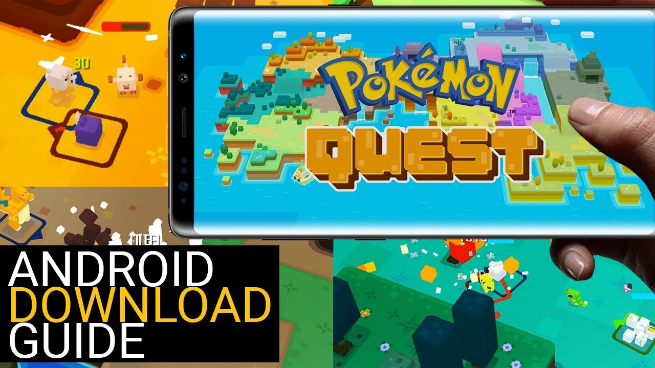 Install Pokemon Quest to Your Android Device (Full Tutorial with APK & OBB Download Links)  #Smartphone #Android