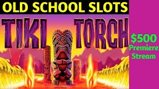 OLD School Slot Machines Live Play | POMPEII Slot Bonus | Tiki Torch Slot Bonus | Golden Incas Slot