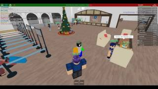 ROBLOX | Absuive staff at Hilton Hotels (Part 1)