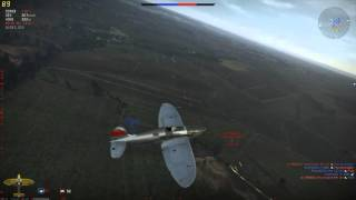 War Thunder - Gameplay - HE 112 V-5