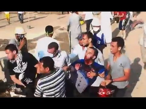Massacres in Egypt by military coup - General Sisi 2013- مذبحة رابعة في حق المدنيين العزل