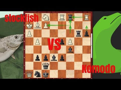 Komodo 13 DEFEATED Stockfish In A Tough Game!!