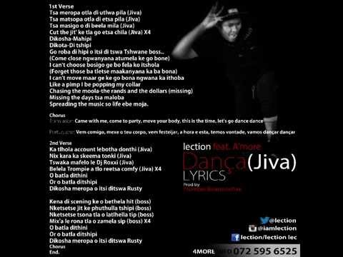 Lection feat. A'more - Dança(Jiva) LYRICS