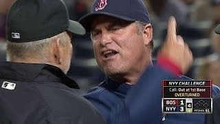 Farrell ejected for arguing after review