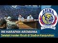 Ini Harapan Aremania Setelah Insiden R!cvh di Stadion Kanjuruhan
