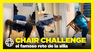 CHAIR CHALLENGE el famoso reto de la silla