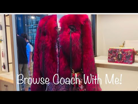 Browse With Me: Coach Retail and Outlet Stores/Customizing My Dinky 19 Bag!