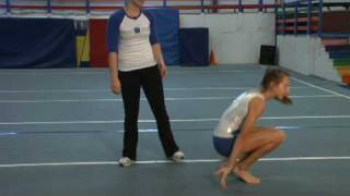 Gymnastics & Tumbling : Learning How to Do a Back Bend