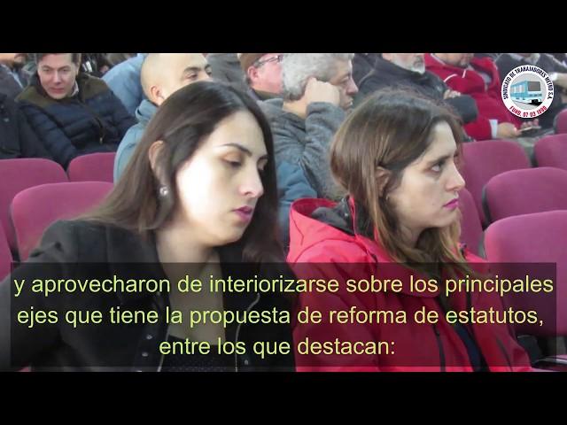 Asamblea General Socios Reforma Estatutos 2019 Sindicato Metro