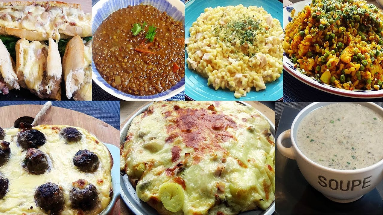 Menu de la semaine 7 recettes pour l 39 hiver youtube - Recette de cuisine pour l hiver ...