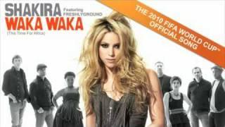 Shakira feat Freshlyground: Waka Waka (This Time For Africa) OFFICIAL