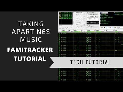 Deconstructing NES Music using Famitracker