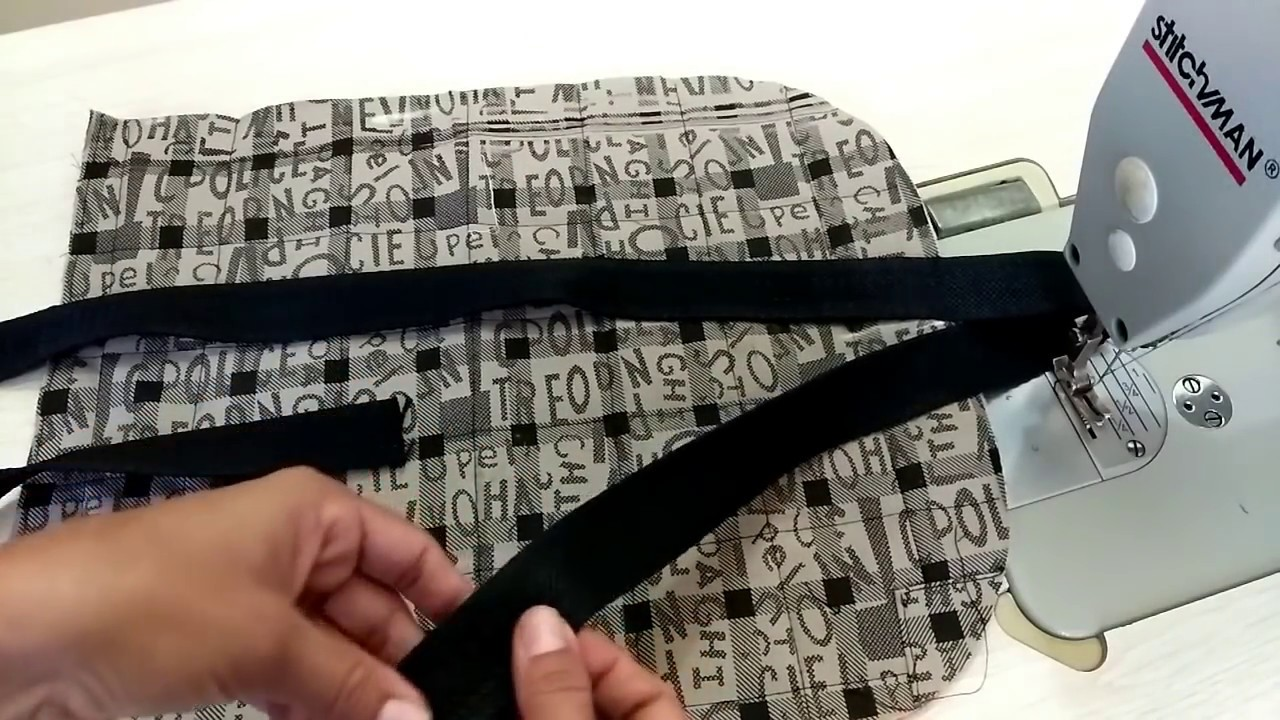 how to make school bag at home