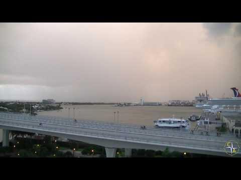 """Sunrise at Port Everglades - Cruise Aficionados """"Lunchtime Videos"""""""