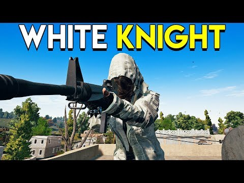 White Knight! - PlayerUnknown's Battlegrounds (PUBG)