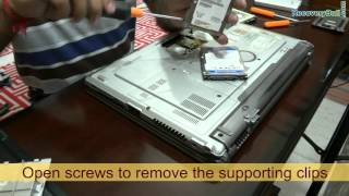 Data recovery from crashed hard drive