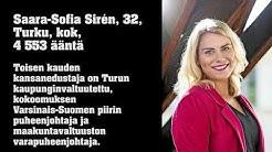 Esittelyssä Varsinais-Suomen vaalipiirin uudet kansanedustajat 2019-