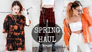 SPRING/SUMMER HAUL! NEW & VINTAGE -TRY ON