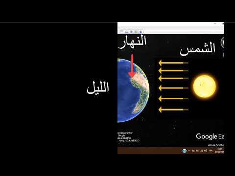 نتائج دوران الأرض حول نفسها تعاقب الليل والنهار 1 Youtube