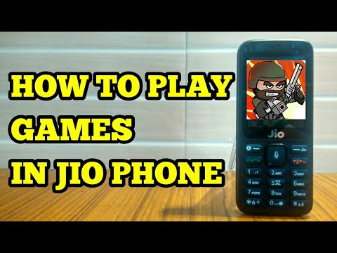 How To Play Games In Jio Phone Youtube