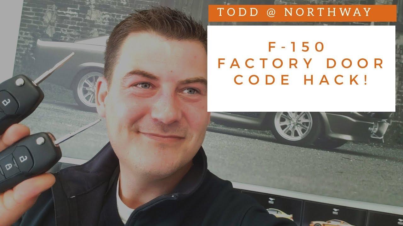 Ford Keyless Entry Code Hack >> F 150 Factory Door Code Hack