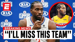 Kawhi Leonard LEAVING The Clippers.. Here's What You NEED To Know!