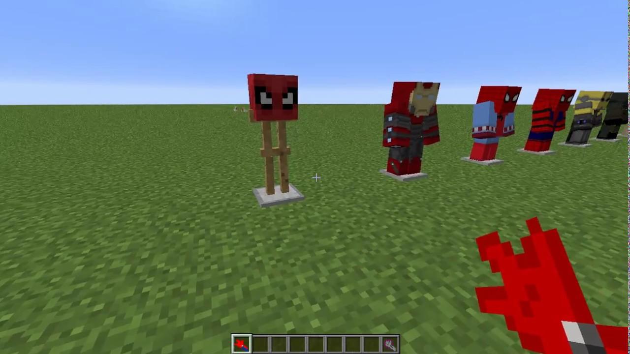 how to get minecraft spiderman mod